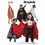 8726 Simplicity Pattern: Kids' Costumes